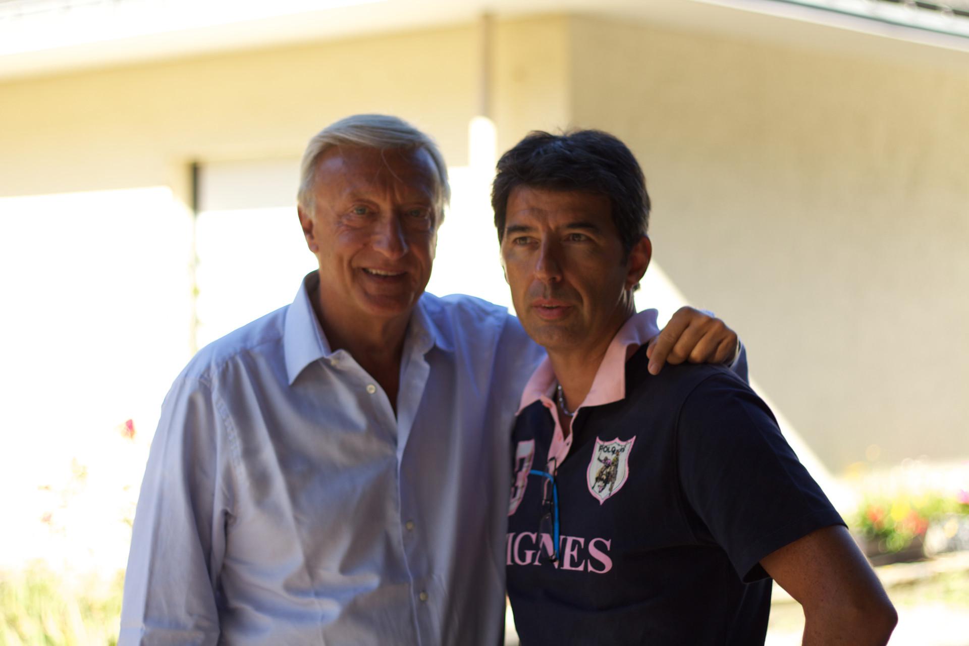 Avec Olivier Lejeune - People & TV – Chris Dorléac